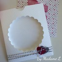 Pochette carte félicitations mariage