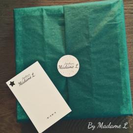 Etiquette et carte Creations By Madame L.