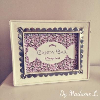 Cadre Candy Bar Liberty