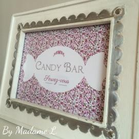 Candy Bar Servez-vous